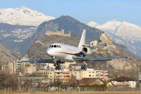 Link to Sion Airport (20 km)