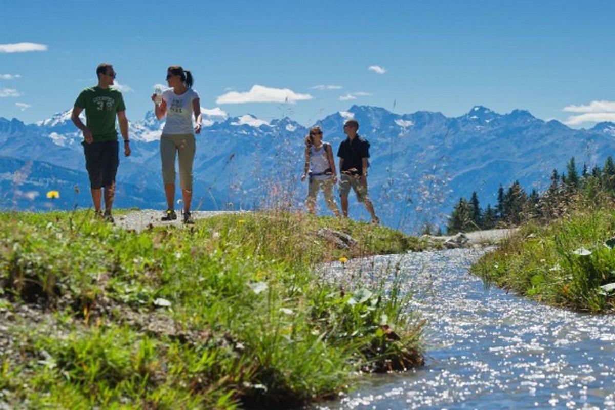 Crans-Montana in summer
