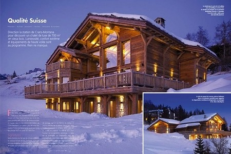 Maisons et bois – Tradition Chalet – Crans-Montana – Valais – Suisse