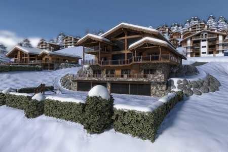 Tradition Chalet – Crans-Montana – Valais – Switzerland – Les Fermes de la Delege Chalet C